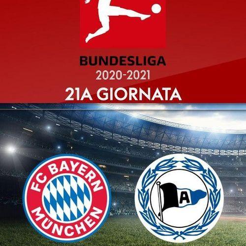 Bayern monaco - arminia bielefeld. 21a g. s2020e0