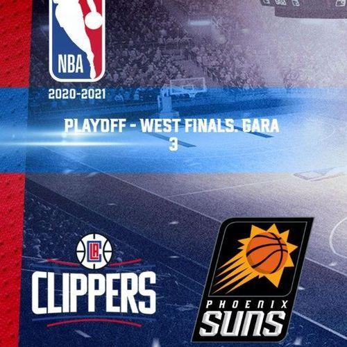 La clippers - phoenix. playoff - west finals. gara 3 s2020e0