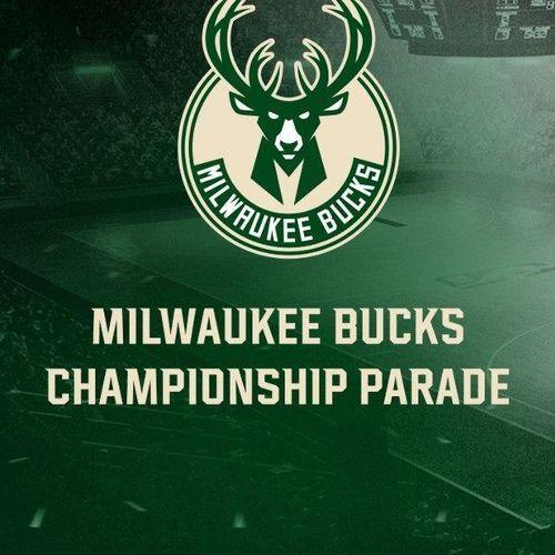 Milwaukee bucks championship parade