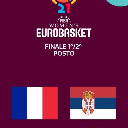 Francia - serbia. finale 1/2 posto s2021e0