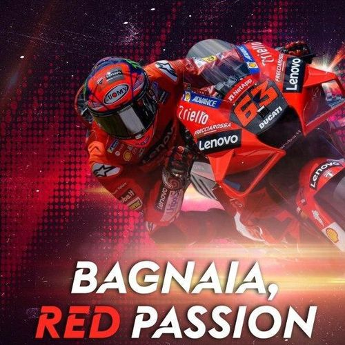 Bagnaia, red passion