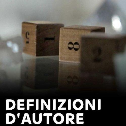 Definizioni d'autore zanichelli s1e6