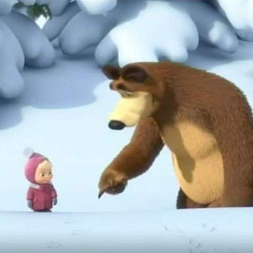 Masha e orso - s1e4 - di chi sono queste impronte?