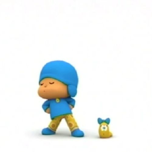 Let's go pocoyo - s1e27 - playing dress up