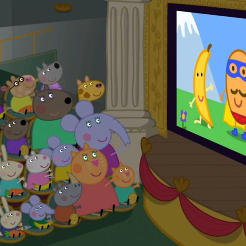 Peppa pig - s8e23 - il film di super patato