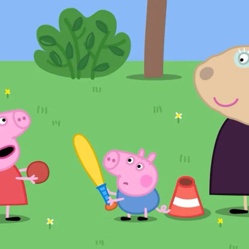 Peppa pig - s8e24 - giochiamo a baseball