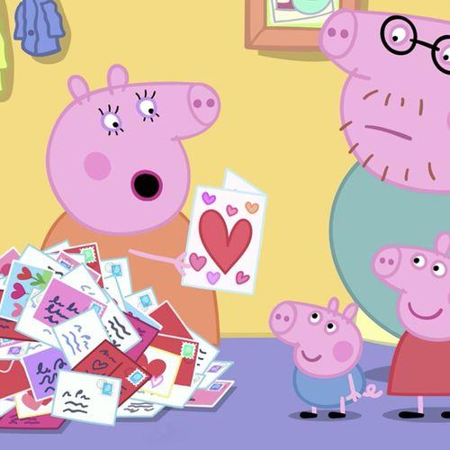 Peppa pig - s8e27 - il giorno di san valentino