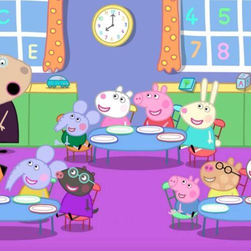 Peppa pig - s8e29 - colazione in classe (versione italiana)