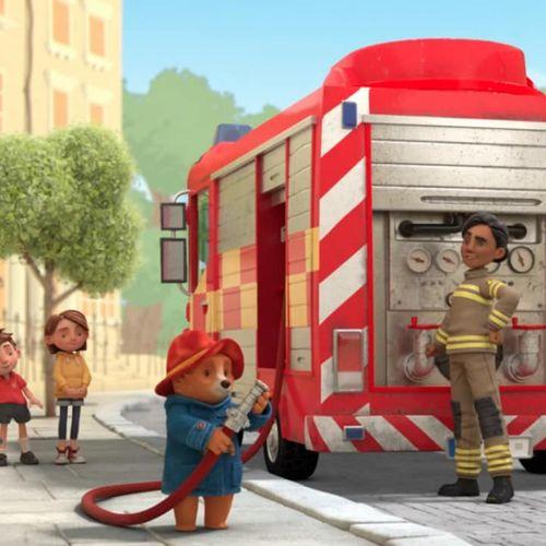 Le avventure di paddington - s1e21 - paddington e il camion dei pompieri - paddington fa parte di un club