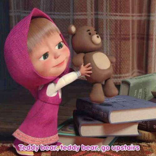 Masha's nursery rhymes - s1e6 - teddy bear