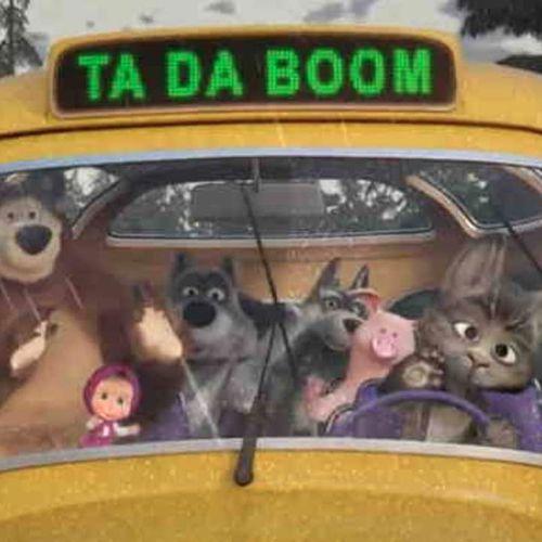 Masha e orso - filastrocche per tutti - s1e4 - le ruote dell'autobus