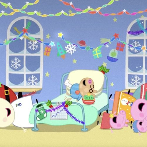 Peppa pig - s8e26 - natale in ospedale