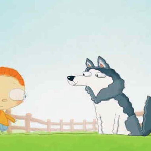 Il giorno in cui henry incontrò - s4e16 - il giorno in cui henry incontrò... un husky