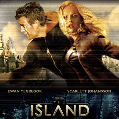 The island (di m. bay)